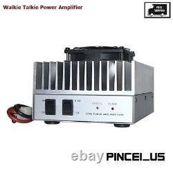Walkie Talkie Amplifier UHF VHF 130-170MHz & 400-470MHz For 2-5W Two Way Radio