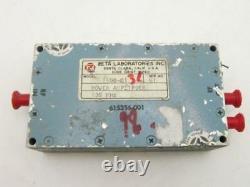 ZETA RF Microwave 100 MHz 1W Power Amplifier 31dBm 46dB SMA Tested